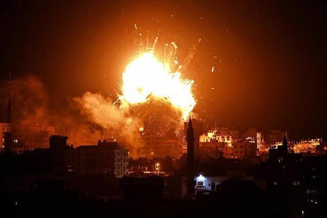 Raketenbeschuss auf Israel, Luftangriffe in Gaza – 6 Tote