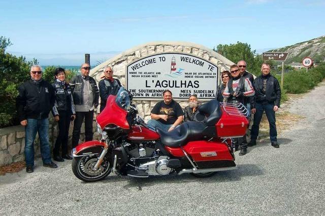 Mit der Harley durch Südafrika