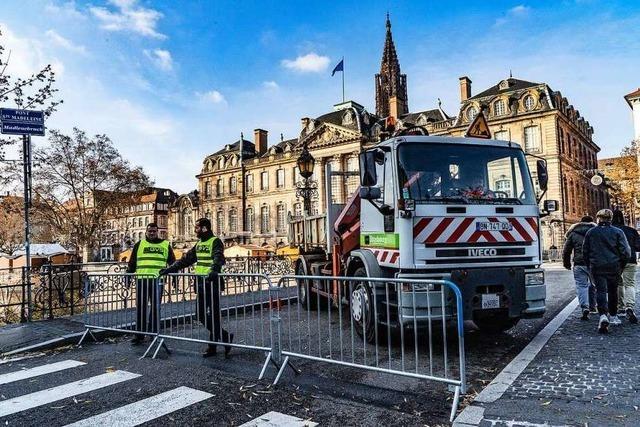 Wie Straßburg seinen Weihnachtsmarkt vor Terror schützt