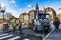 Wieder drastische Sicherheitsvorkehrungen für Straßburger Weihnachtsmarkt