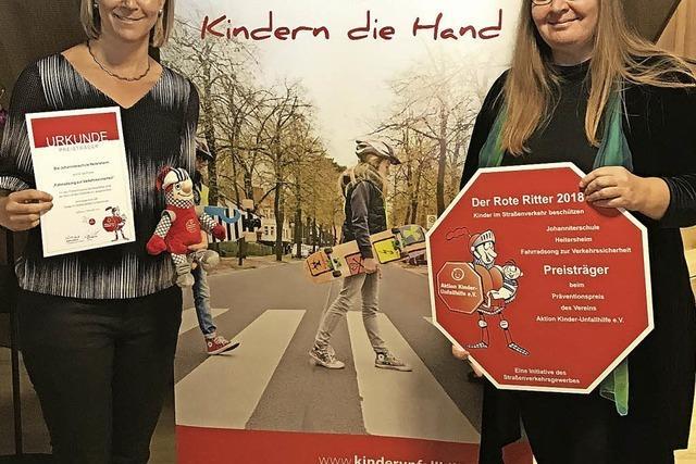 Johanniterschule macht Verkehrserziehung zu Ohrwurm