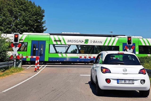 Kostenexplosion bei Breisacher Bahn: Ausbau wird 43 Millionen Euro teurer