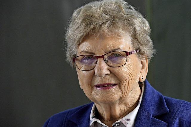 Holocaust-Überlebende zu Gast in der Richard-Fehrenbach-Gewerbeschule
