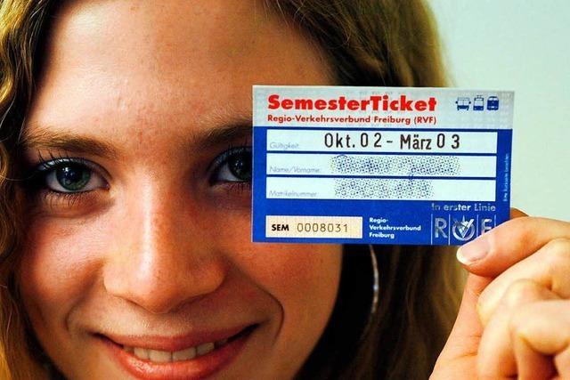 Die Studierenden wollen kein landesweites Semesterticket in Baden-Württemberg