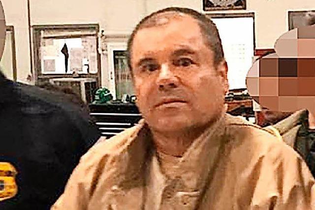 In New York hat der Prozess gegen El Chapo begonnen
