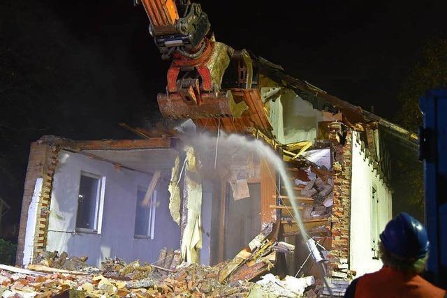 Bahnwärterhaus in Wyhlen wird abgerissen