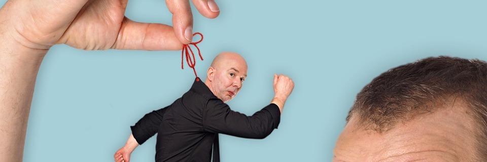 Die Komiker Helge Thuns und Udo Zepezauer treten im Säckinger Kursaal auf