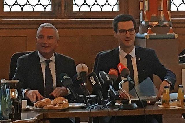Live: Innenminister Strobl und OB Horn zur Neuauflage der Sicherheitspartnerschaft in Freiburg