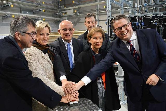 Grenzach-Wyhlen: Power-to-Gas-Anlage geht in Testphase