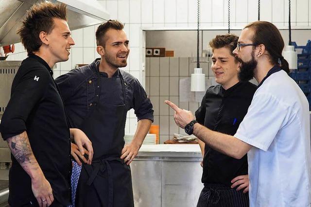 Küchenchef Daniel Weimer: