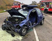 Autounfall beim Buchholzer Rebberg