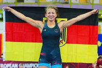 Ringerin Elena Brugger vom TuS Adelhausen gewinnt WM-Bronze