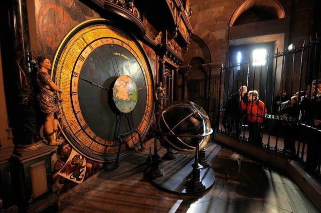 Weg mit Staub und Würmern: Astronomische Uhr in Straßburg ist restauriert