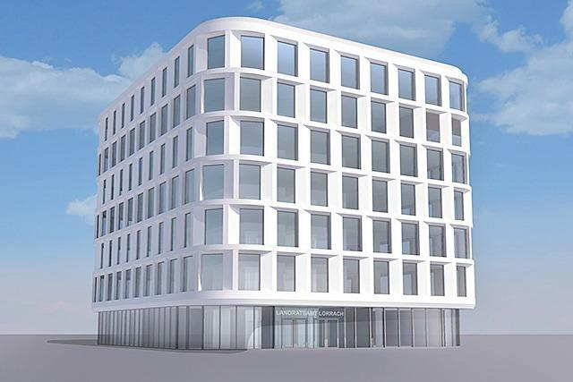 Neubau des Landratsamts in Lörrach wird 9 Millionen teurer