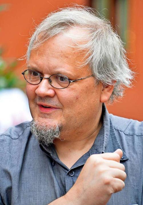 Tobias Pflüger    Foto: Michael Bamberger