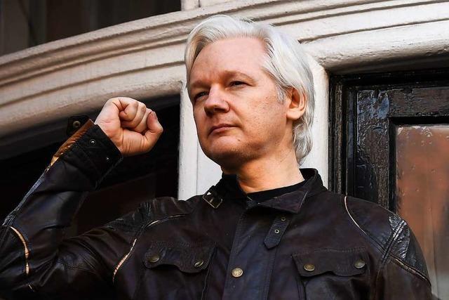 Wikileaks meldet geheime Anklage der USA gegen Julian Assange