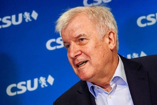 Horst Seehofer tritt am 19. Januar als CSU-Chef zurück