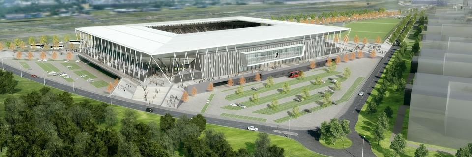Die Baugenehmigung für das neue SC-Freiburg-Stadion ist da
