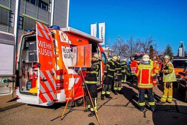 Blausäuredämpfe in Firma ausgetreten – 19 Mitarbeiter im Krankenhaus