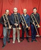 Posaunenquartett mit Lahrer Musikern in der Stiftskirche Lahr