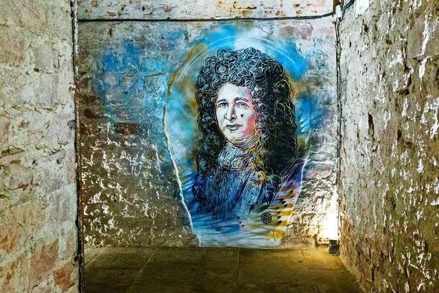 Street-Art in der barocken Festung von Neuf-Brisach