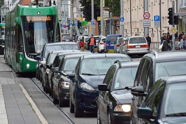 Die Verspätung der Tram 8 in Weil am Rhein wurde leicht abgebaut