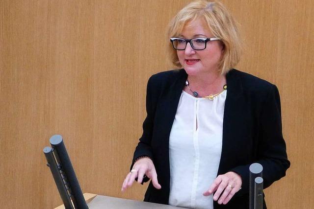 Die CDU-Abgeordnete Sabine Hartmann-Müller ist seit einem Jahr im Landtag
