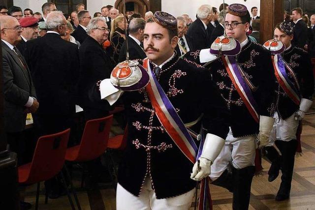 Festakt 200 Jahre Burschenschaft in Freiburg