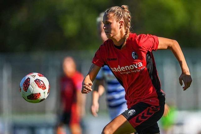 4:0-Sieg in Essen: Frauen des SC Freiburg ziehen ins Viertelfinale des DFB-Pokals ein