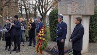 Mahnende Worte beim Gedenken an die Opfer der Kriege