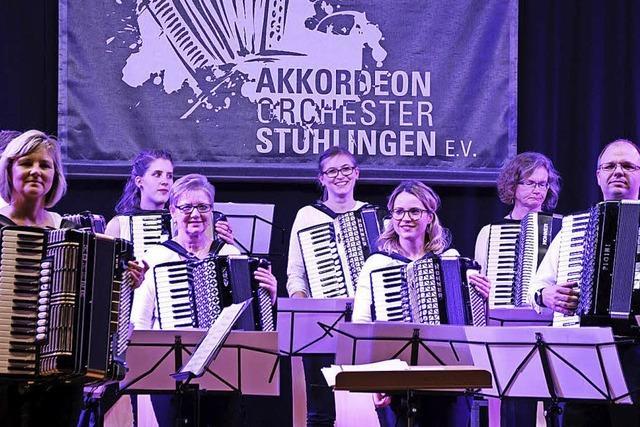 Stühlinger Akkordeon-Orchester bietet brillanten Konzertabend