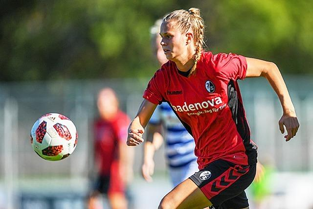 Frauen des SC Freiburg ziehen ins Viertelfinale des DFB-Pokals ein