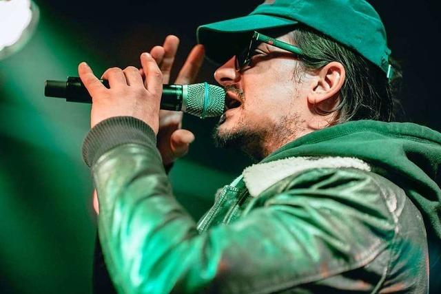 Rapper Haze im Waldsee