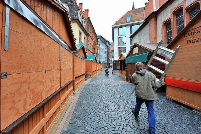 Am Donnerstag startet der Freiburger Weihnachtsmarkt - so früh wie nie