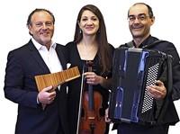 """Urban Frey mit Trio mit """"mittendrin Bach rundherum"""" im Schweizer Rheinfelden"""