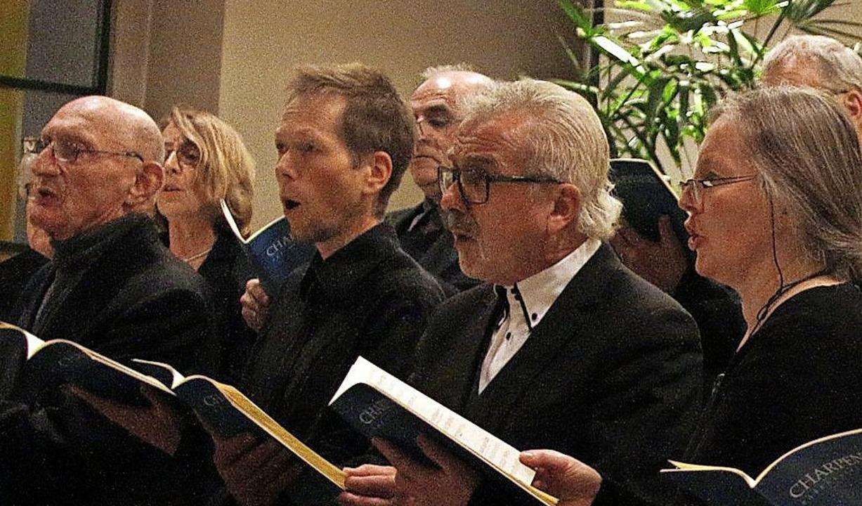Der Chor der Elztalkantorei beeindruckte.   | Foto: Heidi Fössel