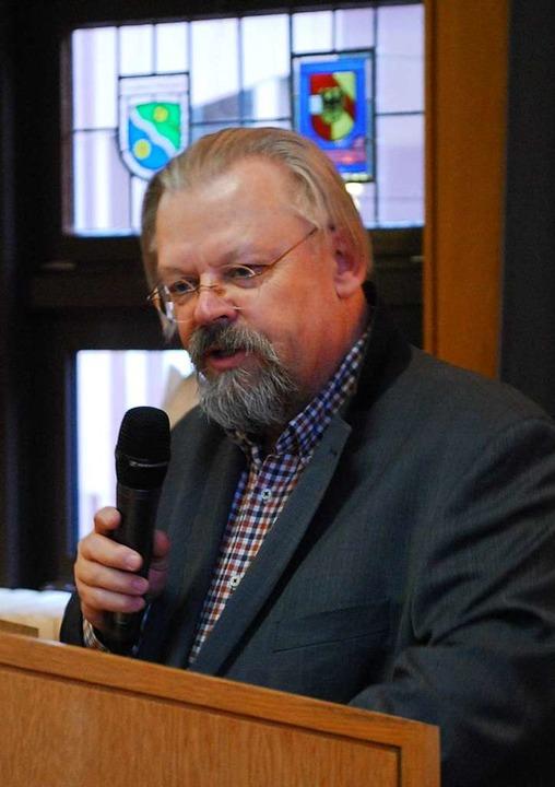 Conrad Gröber liefert auch 70 Jahre na...ich Stoff für Debatten: Wolfang Proske  | Foto: Thomas Loisl Mink