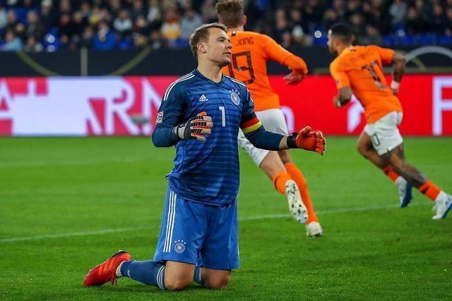 Holland verdirbt der jungen deutschen Nationalelf den Spaß