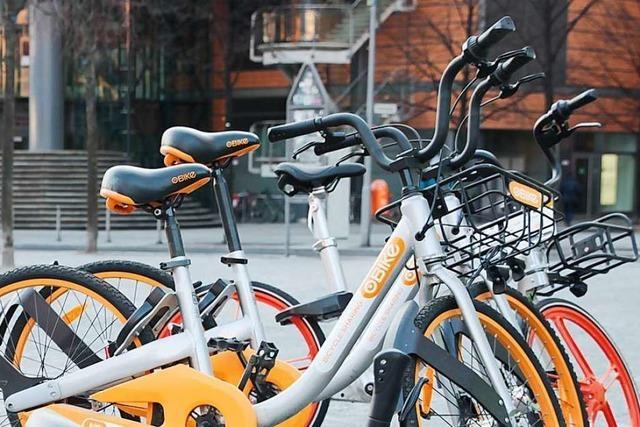Freiburgs Leihfahrräder haben einen Namen: