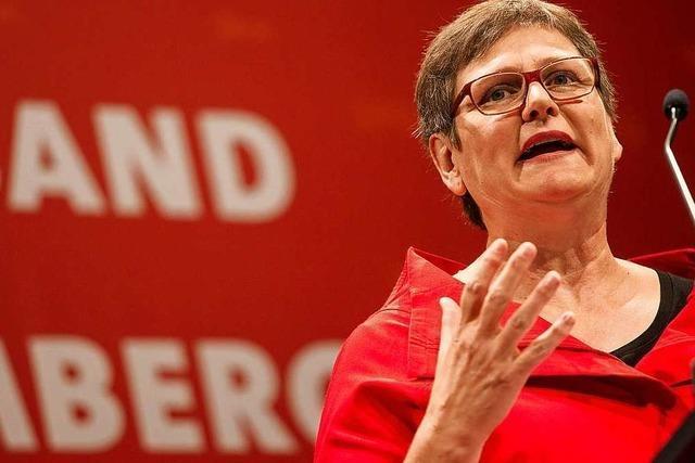 Wirft SPD-Landesvorsitzende Leni Breymaier nach dem knappen Ergebnis hin?