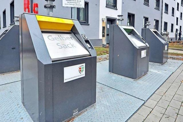 Freiburger Abfallwirtschaft will unterirdische Müllcontainer für Neubaugebiete