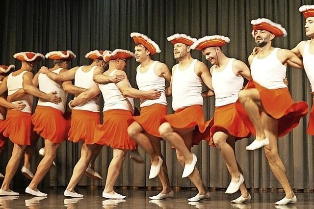 Männer und die Kunst des Tanzes