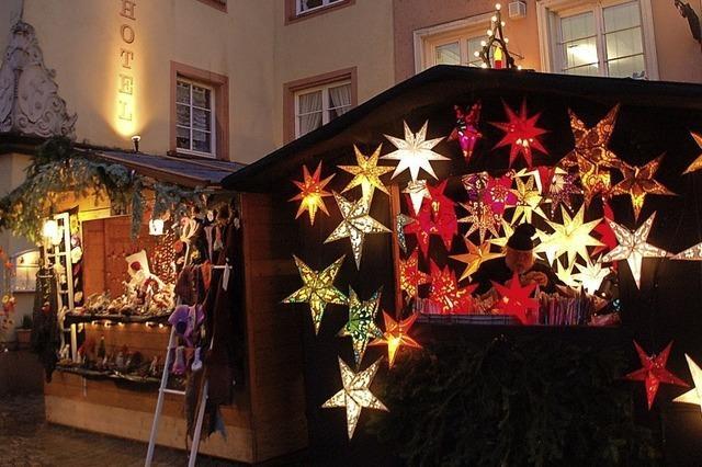 Ein Weihnachtsmarkt mit viel Flair