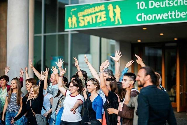 Mehr Teilnehmer als erwartet: Weshalb es beim Deutschen Chorwettbewerb 2018 in Freiburg keine Preisgelder gab