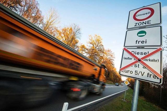 Werden Fahrverbote bald per Kamera überwacht?