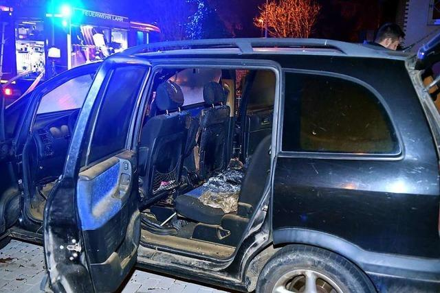 Auto in Kippenheimweiler angezündet – wohl kein Zusammenhang zur Brandserie