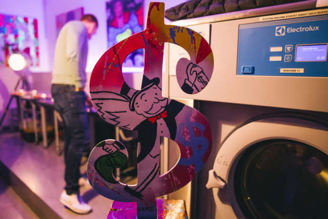 Pop-Art und Waschmaschinen
