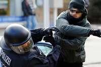 Strobl nennt zunehmende Gewalt gegen Polizisten inakzeptabel
