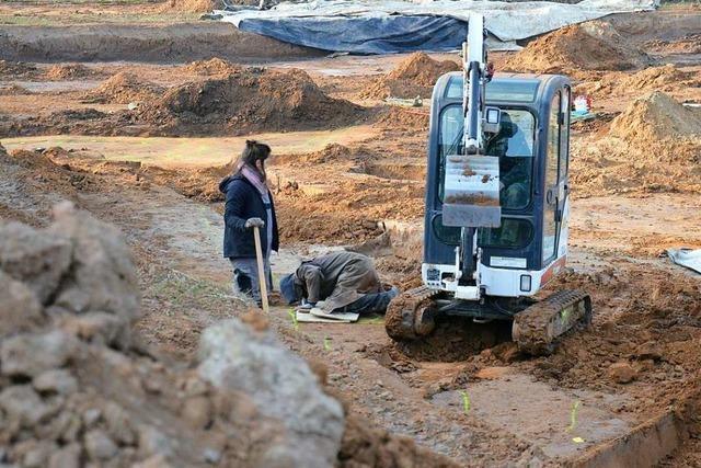 Archäologen entdecken Abfälle aus der Bronzezeit in Ettenheim