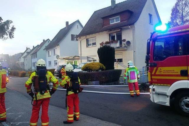Feuerwehr verhindert größeren Brand